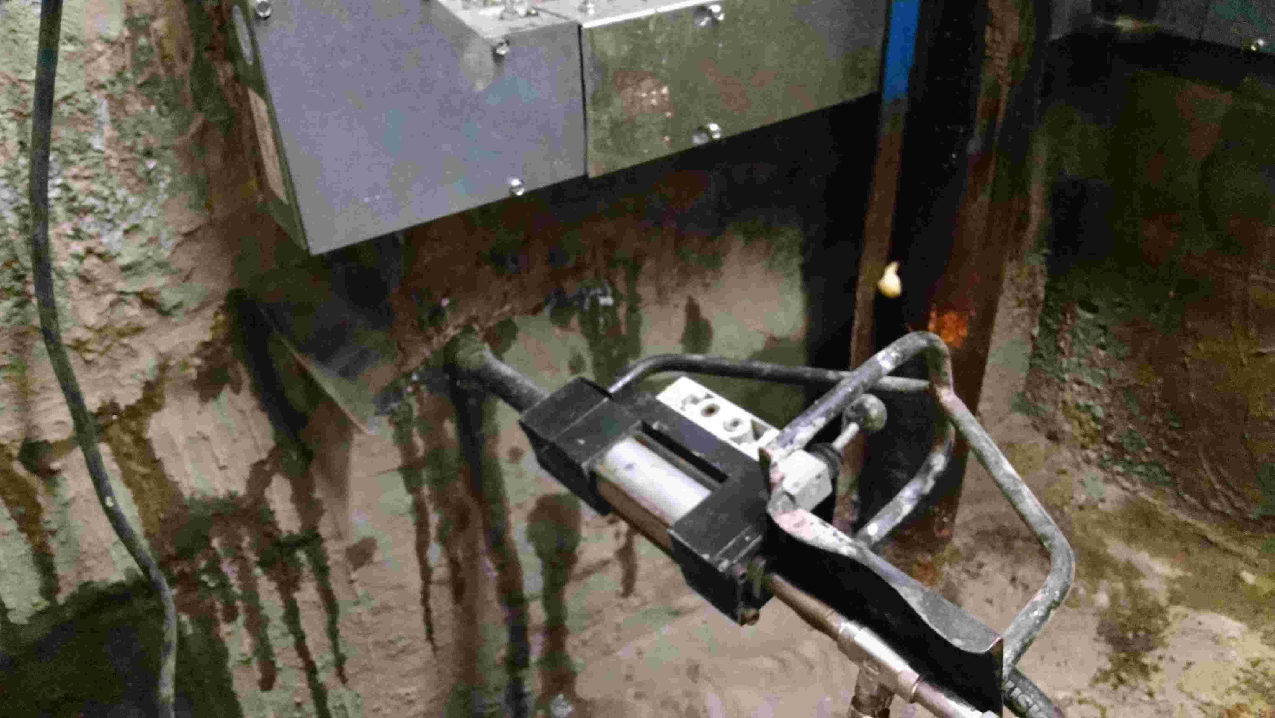 Waterproofing Elevator Pit